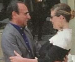 Carlo Conti e Vanessa Incontrada, baci e lacrime